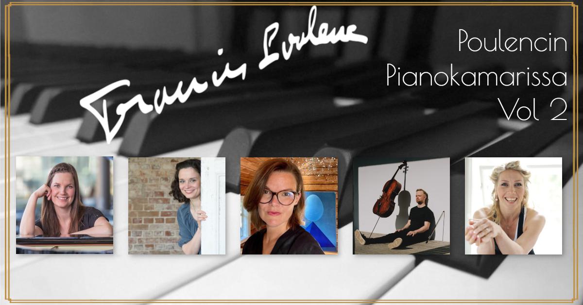 Poulencin Pianokamarissa vol 2
